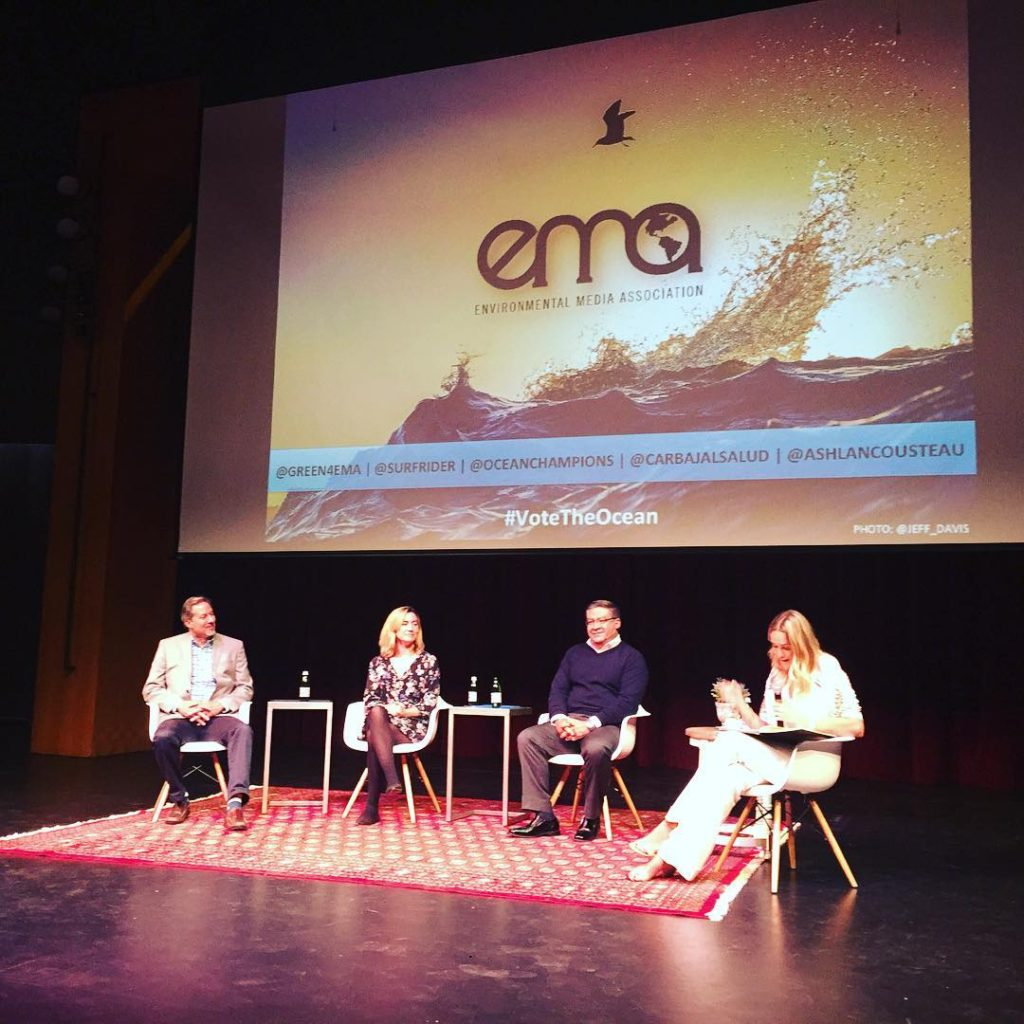 Amazing conversation! green4ema surfrider oceanchampions carbajalsalud ashlancousteau votetheocean